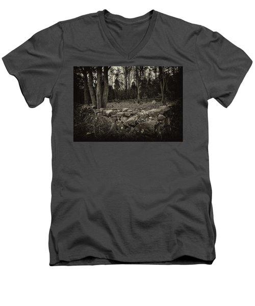 Alpine Benders Cemetery Men's V-Neck T-Shirt