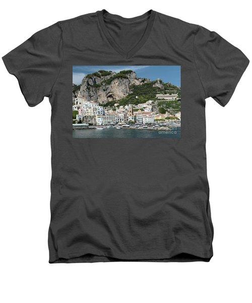 Amalfi Port Men's V-Neck T-Shirt
