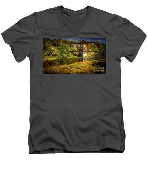 Ammerman Mill Men's V-Neck T-Shirt