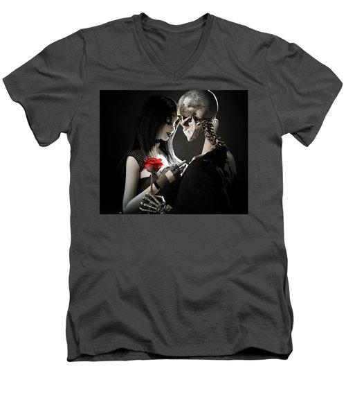 Ancient Love Men's V-Neck T-Shirt