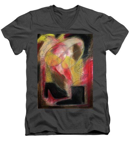 Angel At The Beach Men's V-Neck T-Shirt