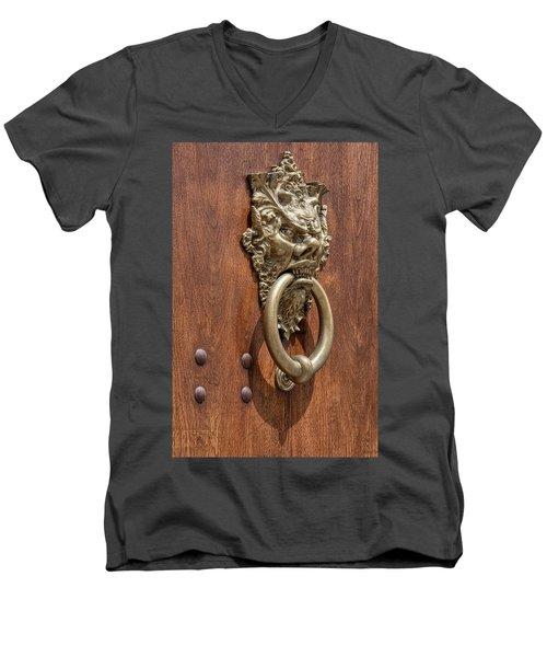 Angry Devil Of Venice Men's V-Neck T-Shirt