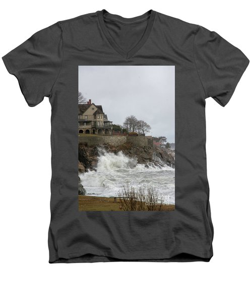 Angry Splash Men's V-Neck T-Shirt