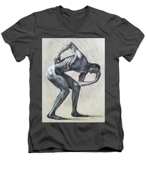 Anguish Men's V-Neck T-Shirt