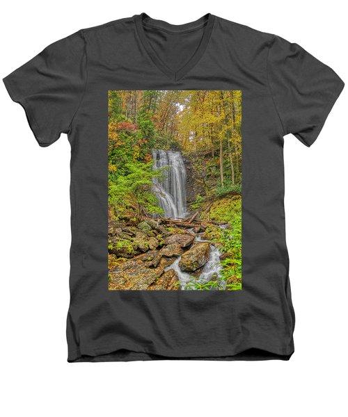 Anna Ruby Falls Left Men's V-Neck T-Shirt