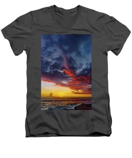 Another Colorful Sky Men's V-Neck T-Shirt