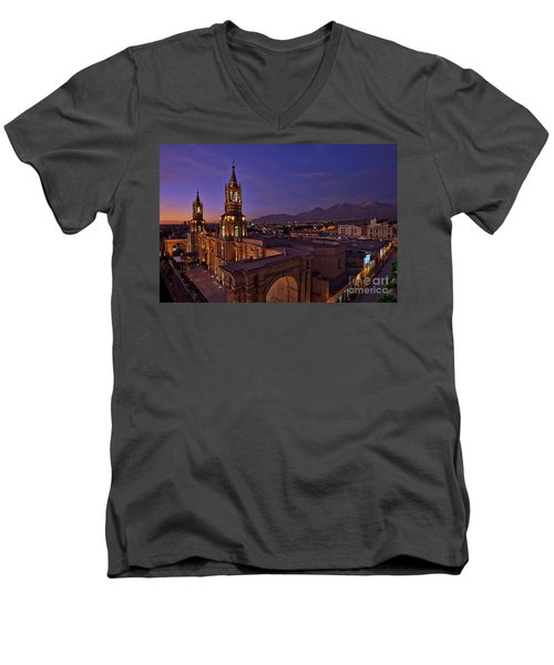 Arequipa Is Peru Best Kept Travel Secret Men's V-Neck T-Shirt
