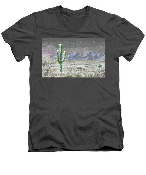 Arizona Blizzard Men's V-Neck T-Shirt