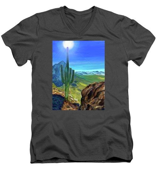 Arizona Heat Men's V-Neck T-Shirt