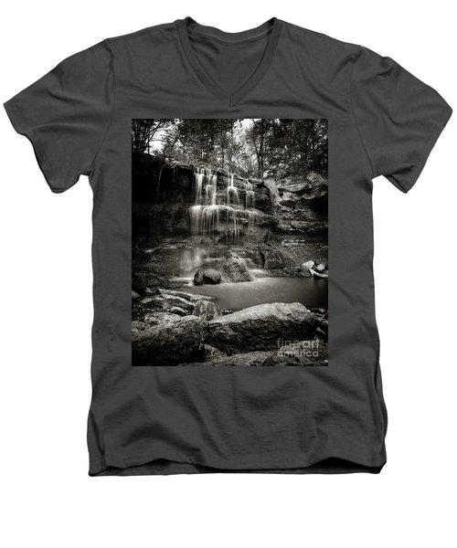Rock Glen Falls Men's V-Neck T-Shirt