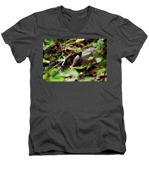 Armadillo  Men's V-Neck T-Shirt