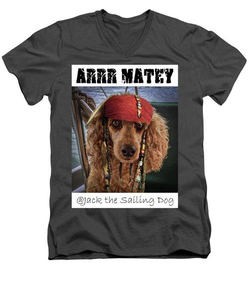Arrr Matey Men's V-Neck T-Shirt