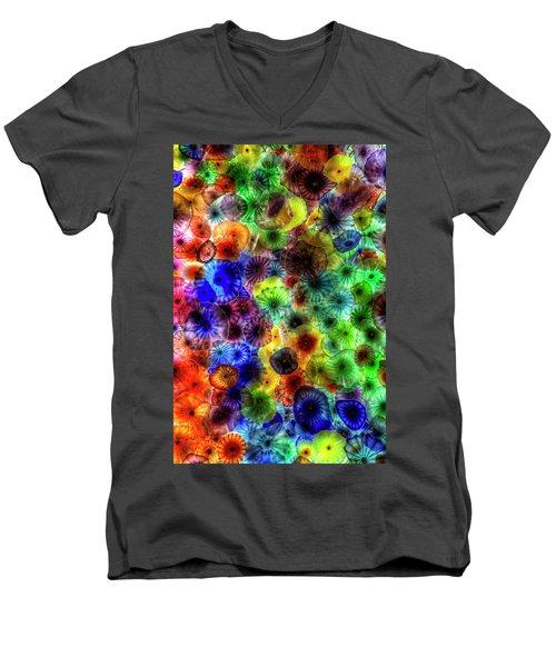Art From Above Men's V-Neck T-Shirt
