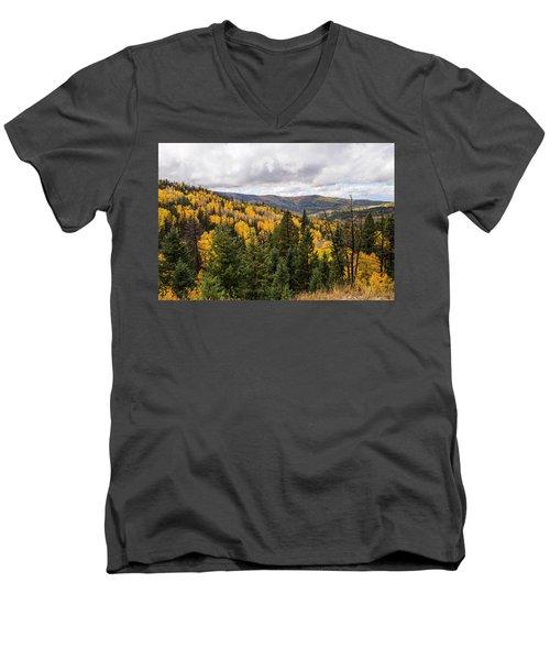 Artist Palette Men's V-Neck T-Shirt