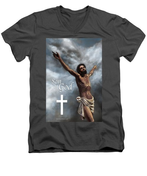 Son Of God Men's V-Neck T-Shirt
