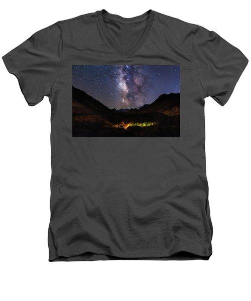 Aspen Nights Men's V-Neck T-Shirt