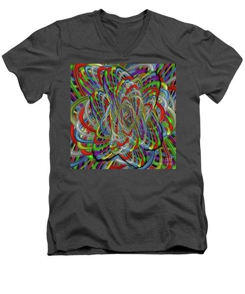 Astray Colors Men's V-Neck T-Shirt
