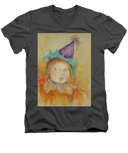 At The Party Men's V-Neck T-Shirt