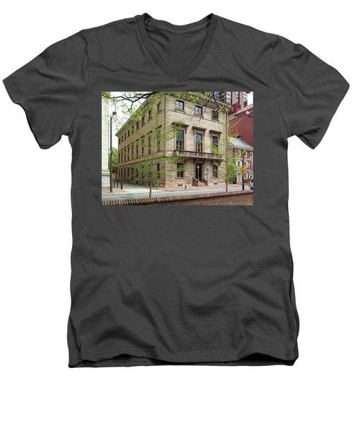 Athenaeum Exterior Men's V-Neck T-Shirt