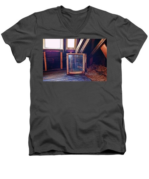Attic #1 Men's V-Neck T-Shirt