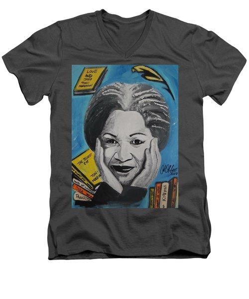 Author Toni Men's V-Neck T-Shirt