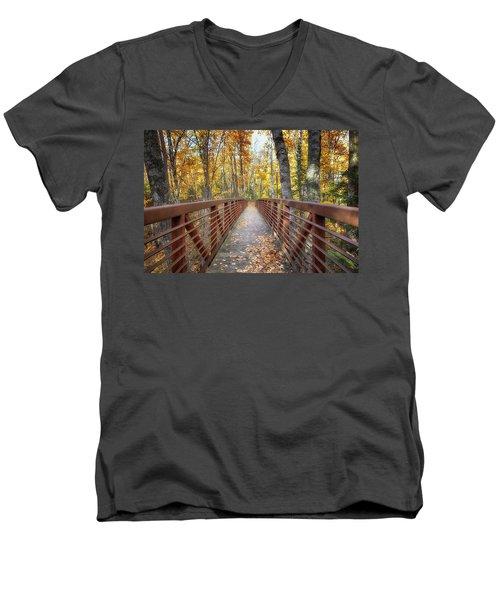 Autumn At Frog Bay  Men's V-Neck T-Shirt
