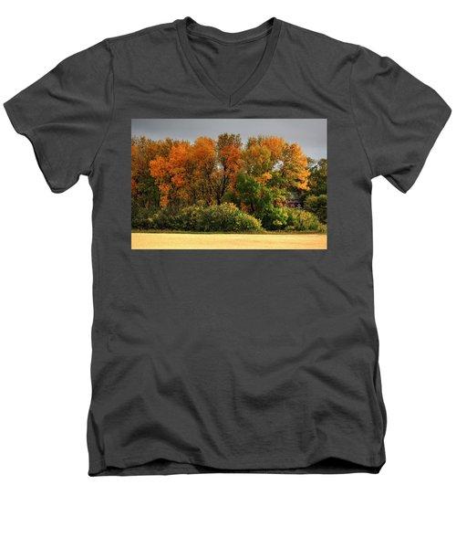 Autumn Is Nigh  Men's V-Neck T-Shirt
