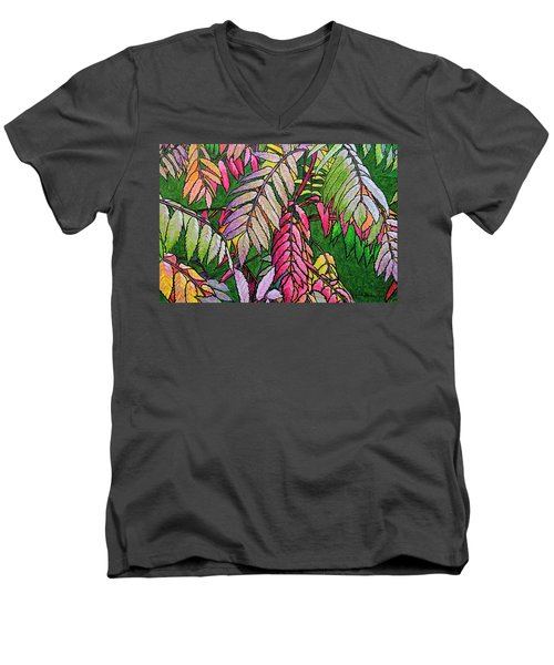 Autumn Sumac Men's V-Neck T-Shirt