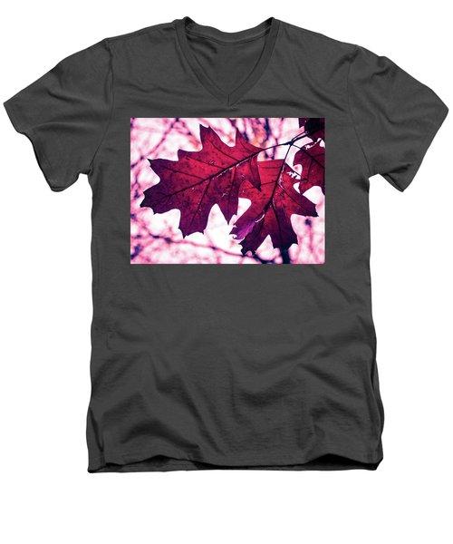 Autum's Ending Men's V-Neck T-Shirt
