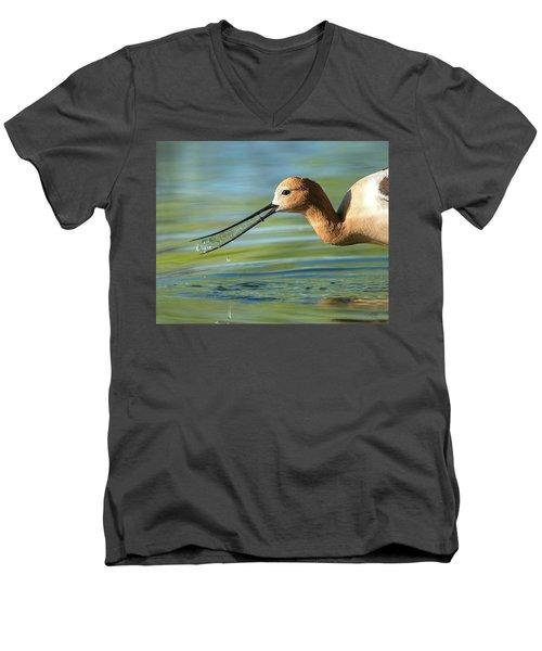 Avocet Magic Men's V-Neck T-Shirt