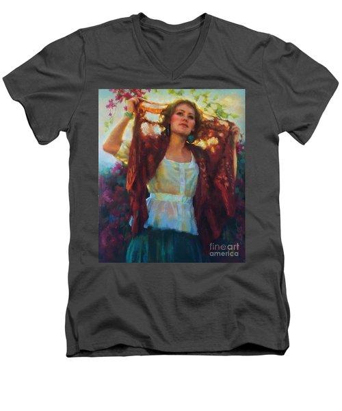 Awaken Men's V-Neck T-Shirt