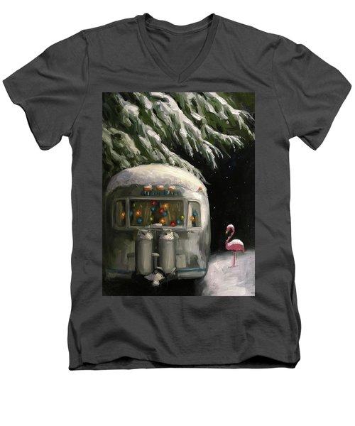 Baby, It's Cold Outside Men's V-Neck T-Shirt