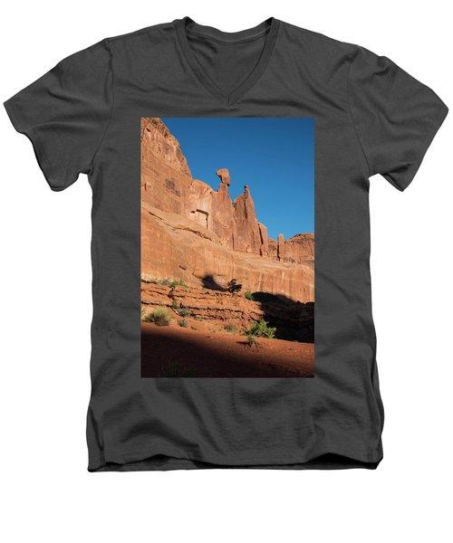 Balance Rock Men's V-Neck T-Shirt