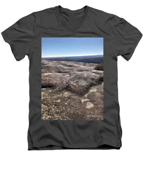 Bald Rock Men's V-Neck T-Shirt