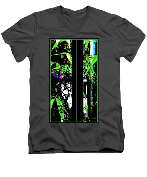 Bamboo  Exotica Men's V-Neck T-Shirt