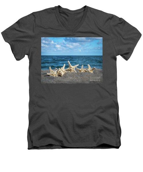 Beach Dance Men's V-Neck T-Shirt