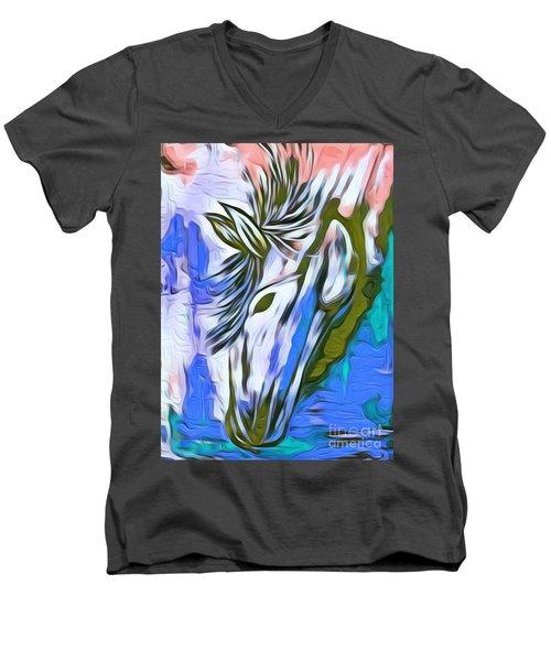 Beautiful One Men's V-Neck T-Shirt