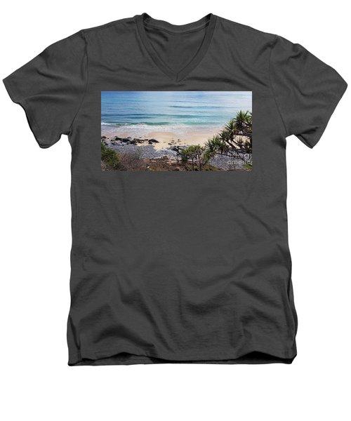 Beautiful Noosa Beach  Men's V-Neck T-Shirt