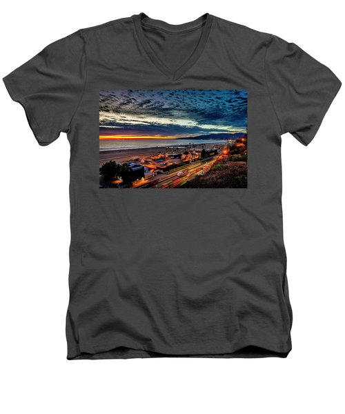 Beautiful Sky After The Storm Men's V-Neck T-Shirt