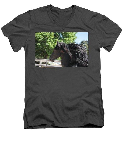 Beauty In Motion Men's V-Neck T-Shirt