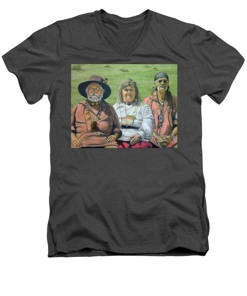 Beaver Camp Men's V-Neck T-Shirt