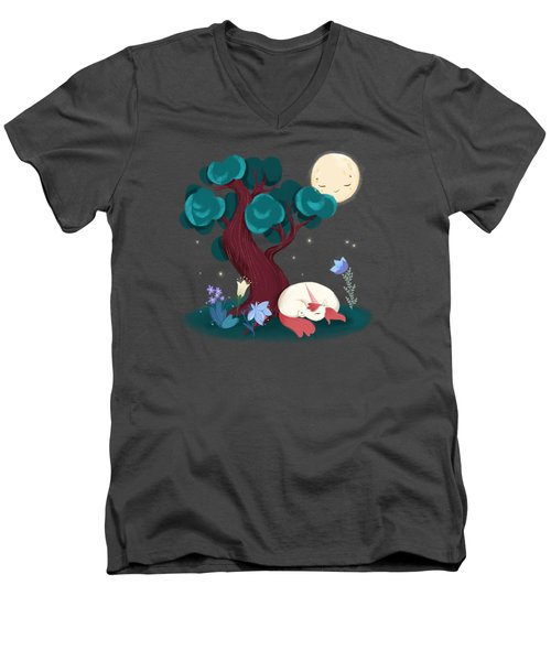 Bedtime Sweet Dreams For All Magical Creatures Men's V-Neck T-Shirt