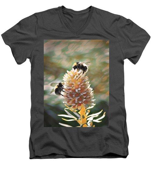 Bee Bee Men's V-Neck T-Shirt