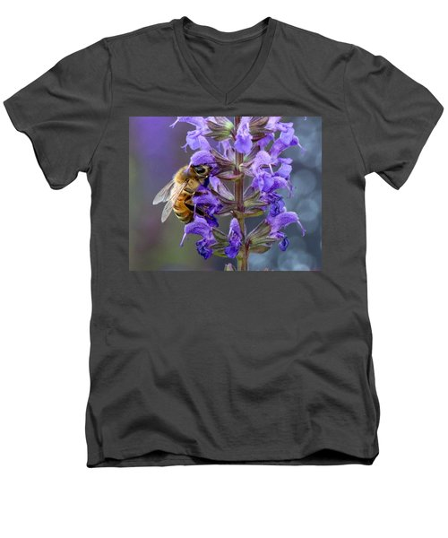 Bee-utiful Pollinator Men's V-Neck T-Shirt
