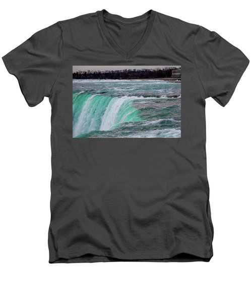 Before The Falls Men's V-Neck T-Shirt