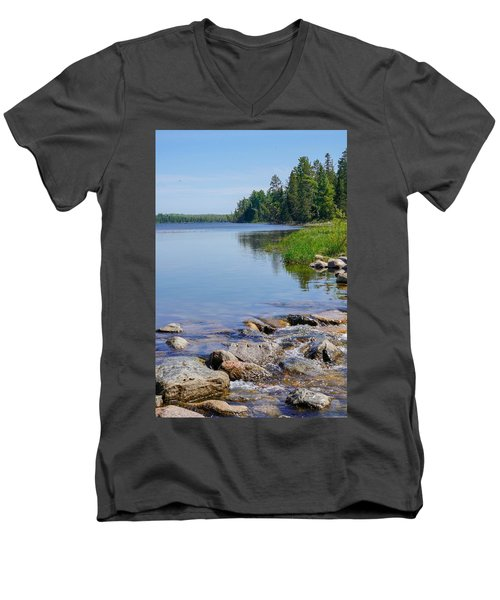 Beginning Of A Journey Men's V-Neck T-Shirt