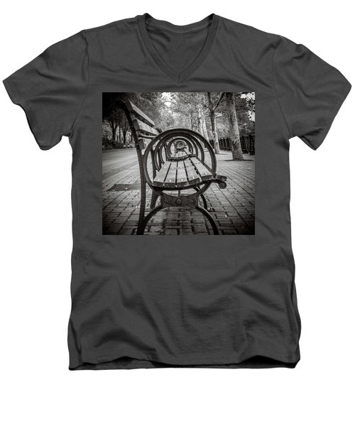 Bench Circles Men's V-Neck T-Shirt