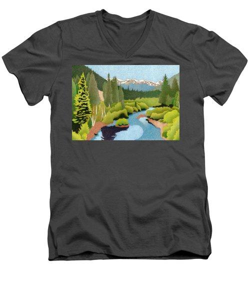 Berthoud Pass Men's V-Neck T-Shirt