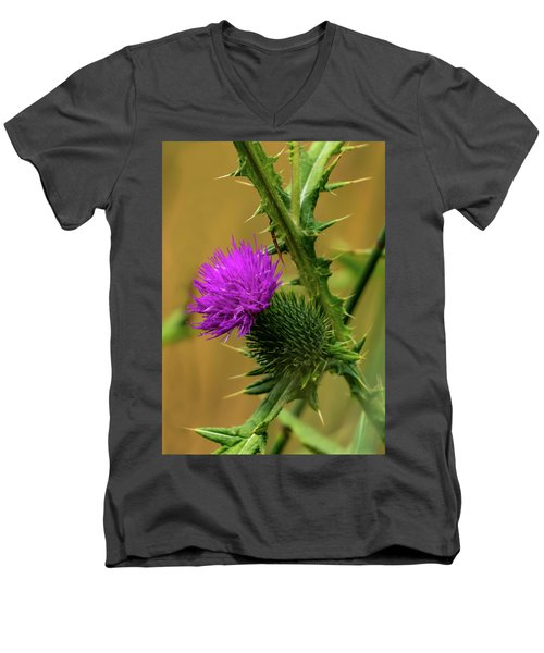 Between The Flower And The Thorn Men's V-Neck T-Shirt