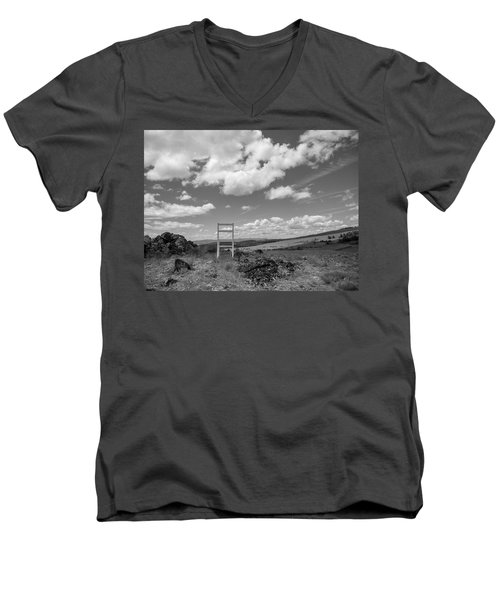 Beyond Here The Chair Project Men's V-Neck T-Shirt